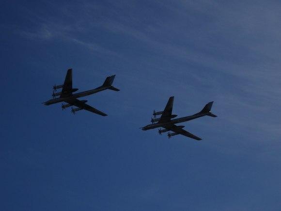 Русские  бомбардировщики снова замечены уберегов Аляски