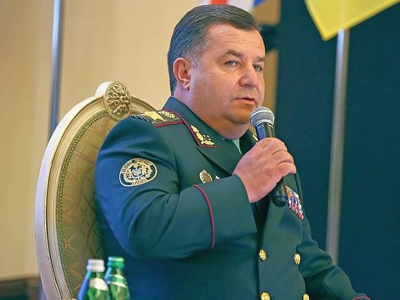 Полторак: 5,5 тысячи военныхРФ ведут войну наДонбассе