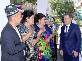 Фото с сайта president.uz