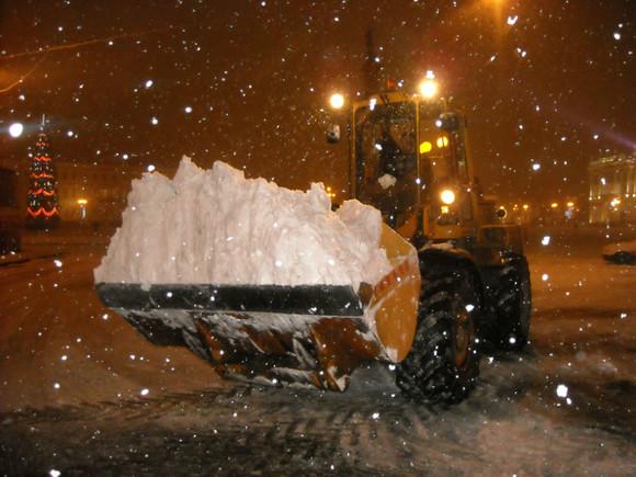 Практически годовая норма снега выпала задва месяца в российской столице