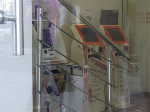 Схвачен подозреваемый вкраже платежного терминала изаптеки