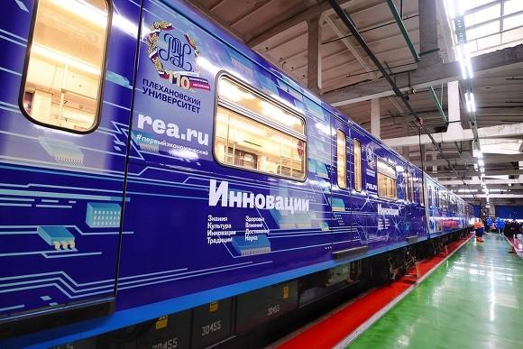 Поезд «Плехановец» начал курсировать посерой ветке метро