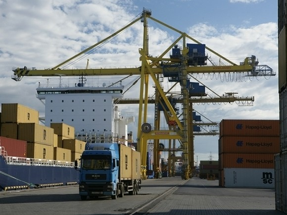 За 9 месяцев грузооборот АО «Морской порт Санкт-Петербург» снизился на 9,9%