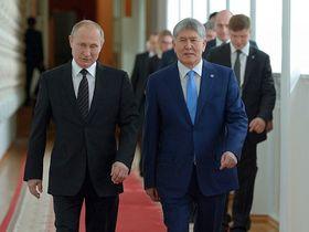 Фото с сайта president.kg