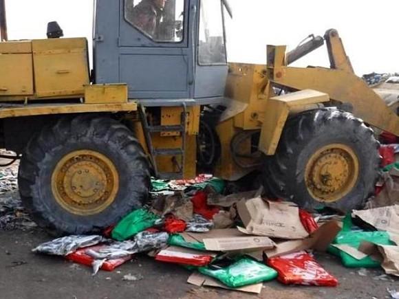 НаДону уничтожили 21 тонну исландской санкционной селедки