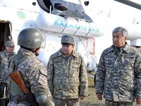 Официальный сайт Минобороны Казахстана