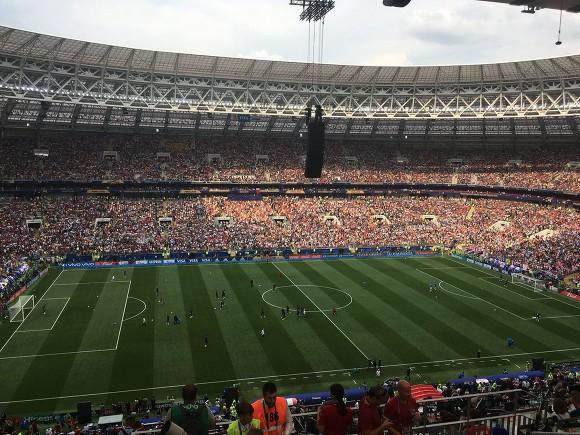 Церемония закрытия ЧМ-2018 стартовала в«Лужниках»