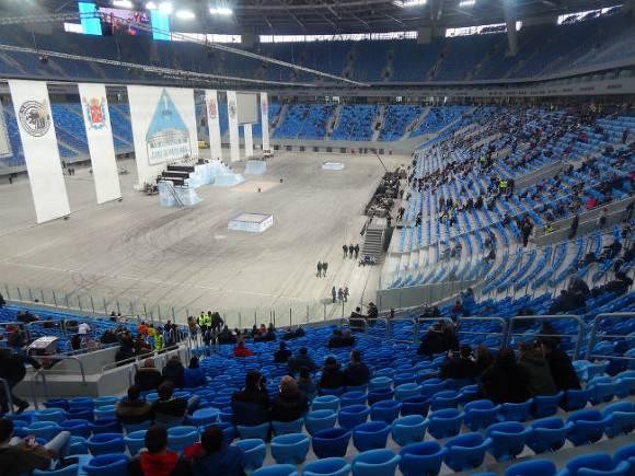 Устранение вибраций на«Крестовском» обойдётся в120 млн руб.