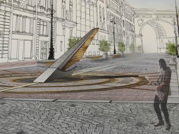 Большой Морской улице подберут новый образ доконца года