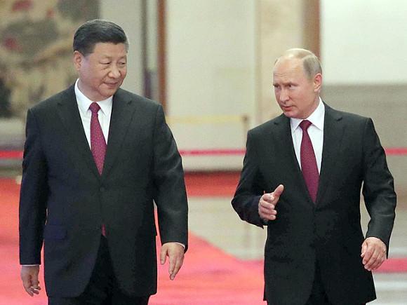Эксперты в США предрекли появление антизападного союза РФ с Китаем
