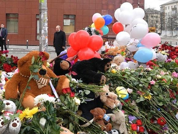 Путин назвал причины пожара вКемерове— Халатность иразгильдяйство