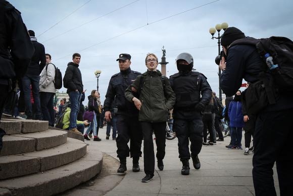 В столице России  задержали журналистку канала «Навальный Live»