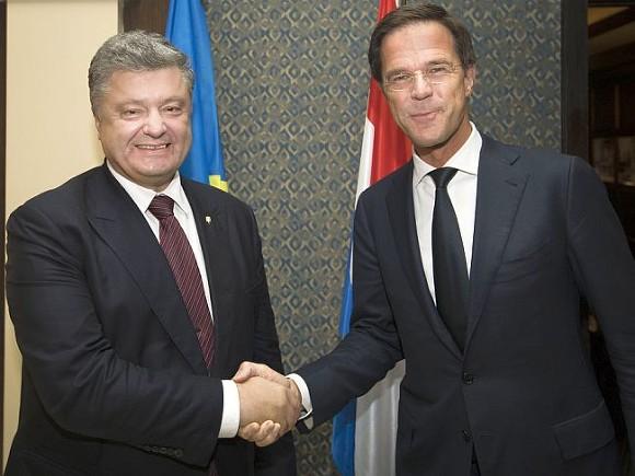 Нидерланды неразделяют оптимизма поповоду партнерстваЕС иУкраины