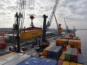 Фото пресс-службы Рижского свободного порта