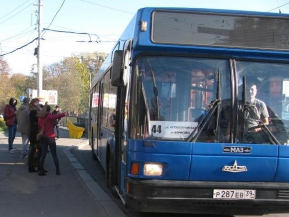 В Петербурге сгорел туристический автобус