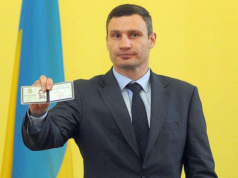 Кличко вновь поборется за пост мэра Киева