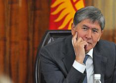 gov.kg. Алмазбек Атамбаев