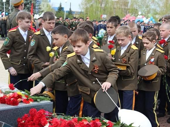 Парад кадетского движения пройдет наПоклонной горе 6мая