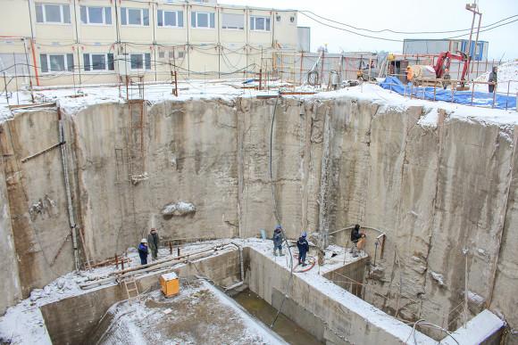 Албин проинспектировал строительство станции метро «Новокрестовская»