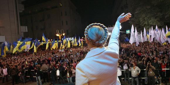 Тимошенко проинформировала спасибо Гройсману за«валентинку» вДень влюбленных