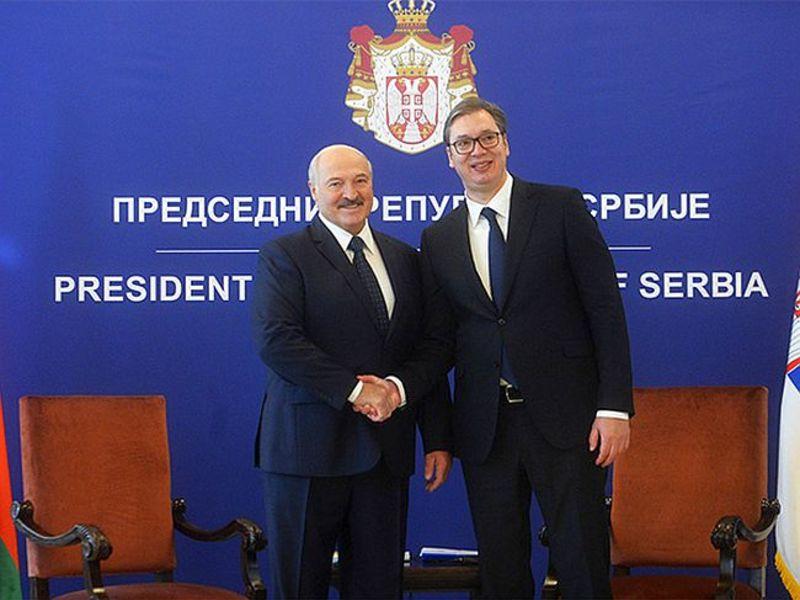 Лукашенко поддержал планы Сербии вступить в ЕС