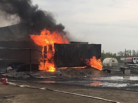 Один человек умер в итоге пожара назаводе вДзержинске