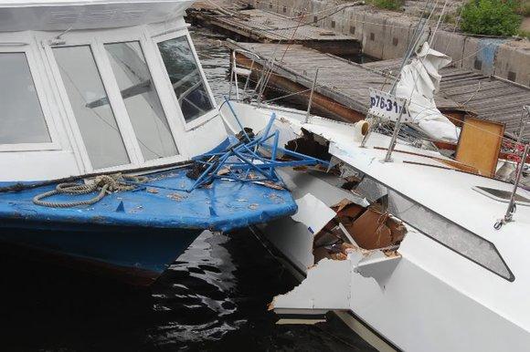4 человека погибли при столкновении судов вЭгейском море