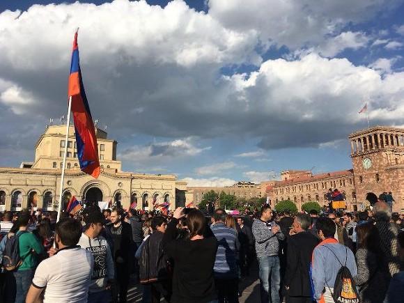 Пашинян готов стать премьер-министром Армении, ежели такая будет воля народа