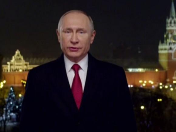 СМИ Англии назвали «дерзким» новогоднее обращение В.Путина