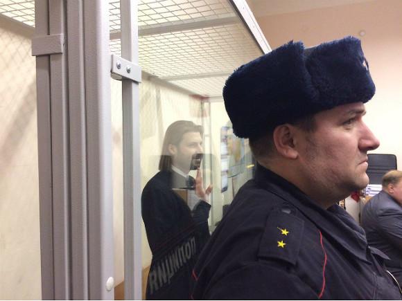Первосвященника Грозовского доставили всуд Петербурга