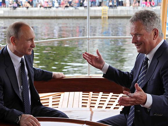 СМИ проинформировали обутечке секретной переписки милиции овизите Владимира Путина вФинляндию