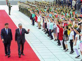 Завалитли Китай юанями Казахстан?