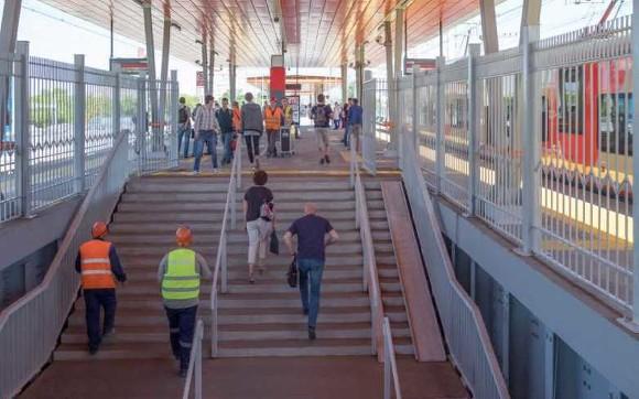 Железнодорожная платформа Инновационный Центр Сколково открылась в Подмосковье