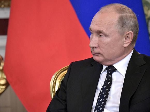 Путин и владыка Тихон посетили Печерский монастырь