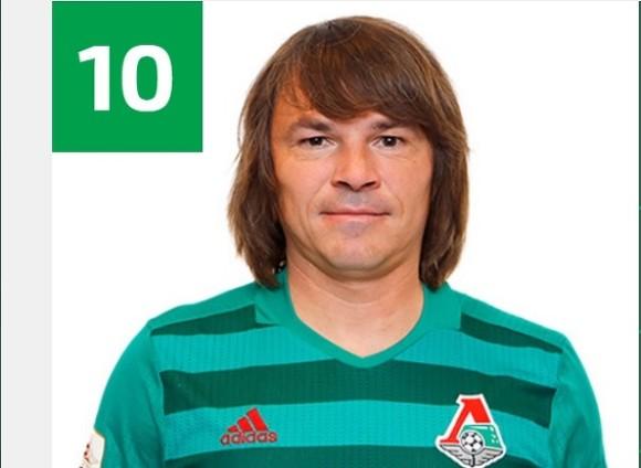 43-летний Дмитрий Лоськов вернётся наполе вкачестве игрока «Локомотива»