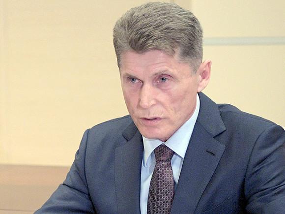 Врио губернатора Кожемяко подал документы в избирком Приморья