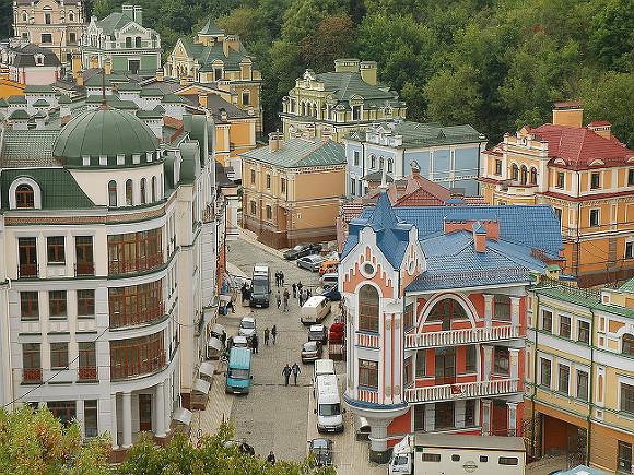 Центр столицы Украины  остался без электричества из-за повреждения электросетей
