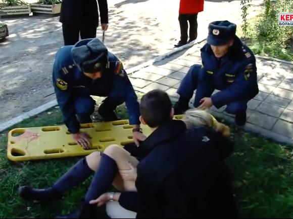 Ростовские cотрудники экстренных служб вылетят вКерчь наместо взрыва вколледже