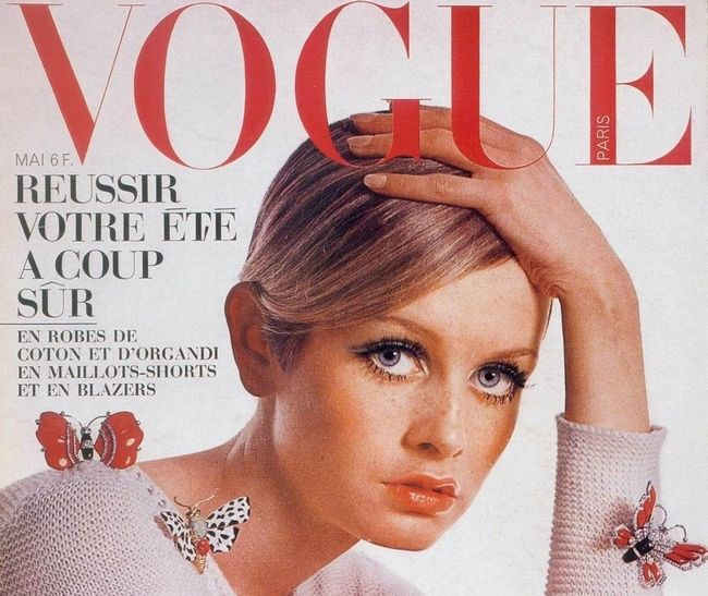 Фрагмент обложки журнала Vogue