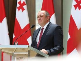 Фото пресс-службы президента Грузии