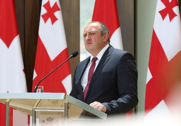 Президент Грузии Маргвелашвили назвал виновных в потере Абхазии и Южной Осетии