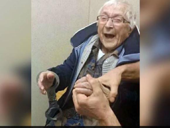 ВНидерландах 99-летнюю старушку посадили зарешетку