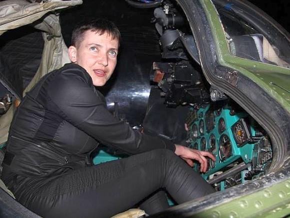 Савченко потребовала закончить  войну наДонбассе