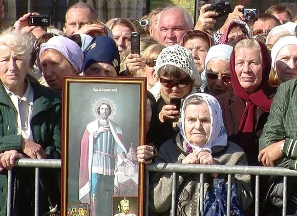 Наталья Поклонская непришла настояние против «Матильды»