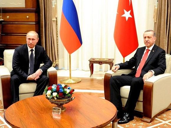 Путин обсуди сЭрдоганом попытку госпероворта вТурции