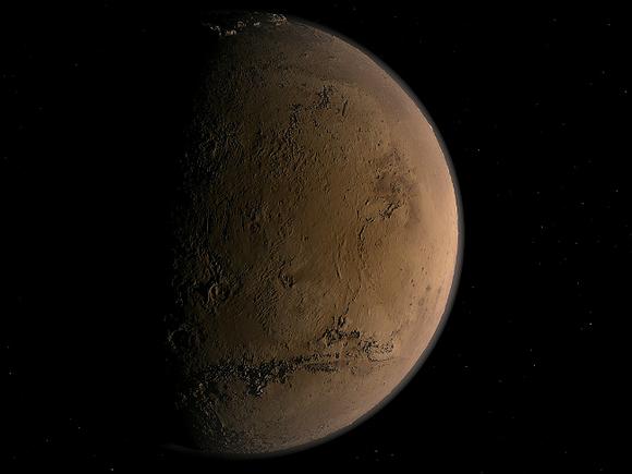 Одноклеточные микроорганизмы смогут выжить наМарсе