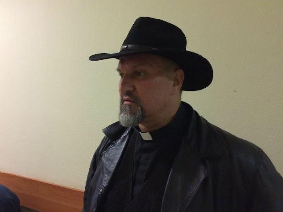 Православного проповедника вПетербурге оштрафовали на5 тыс. руб.
