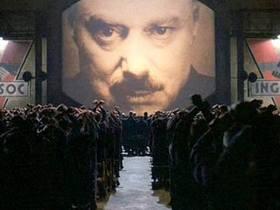 Кадр из фильма «1984».