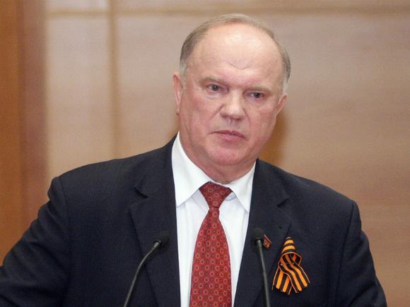 Зюганов пожаловался Путину, что федеральные каналы устроили травлю Грудинина