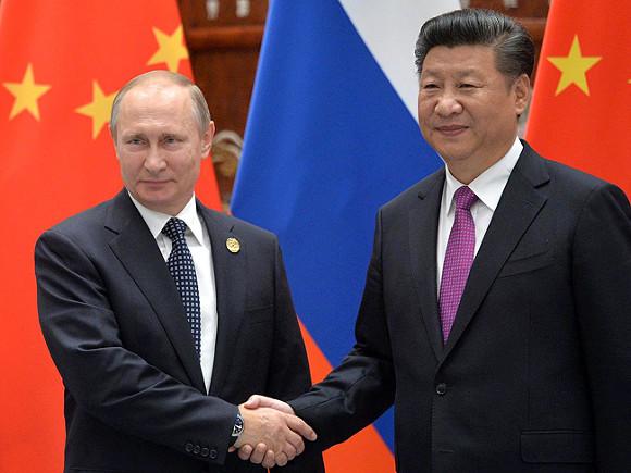 Путин поприглашению СиЦзиньпина кконцу весны посетит КНР